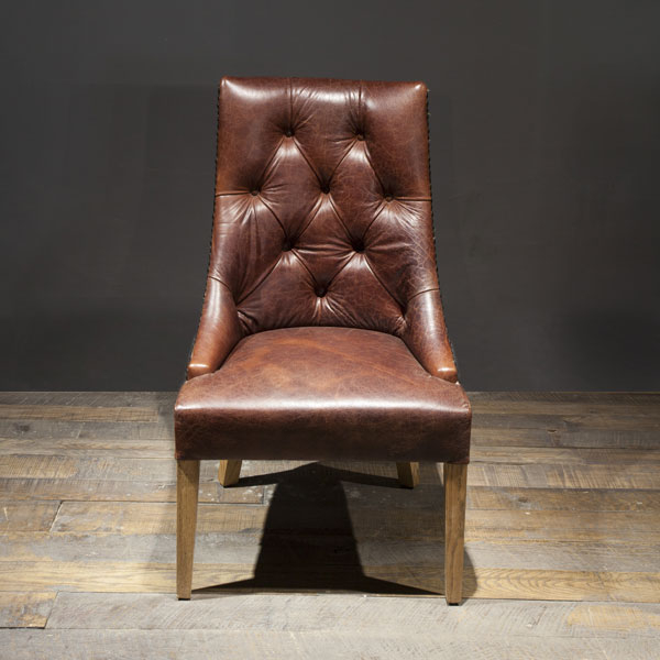 JJ leather chair